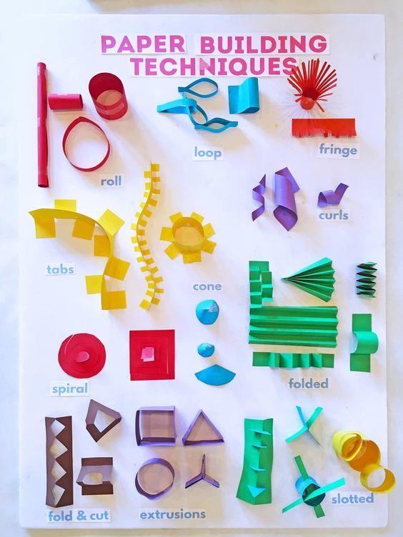 spring, paper craft